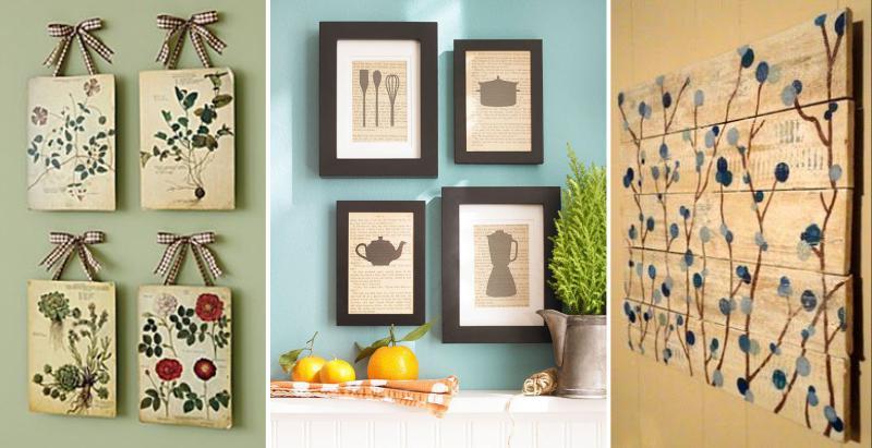 Панно и картины на стену своими руками