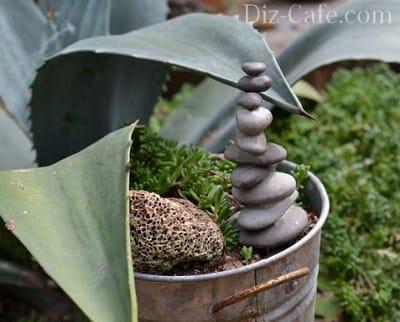 Декоративна галька в саду — доріжки і малі форми для прикраси вашого ділянки