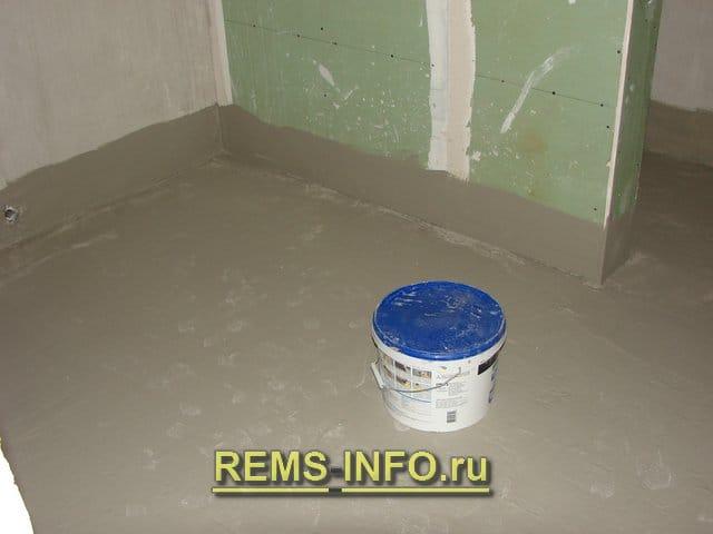 Гидроизоляция ванной комнаты в новостройке своими руками