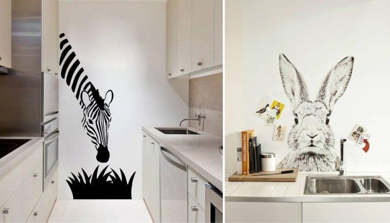 Как сделать рисунки на кухне 386