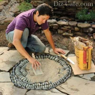 Вісім способів застосувати мозаїку в дизайні ділянки та присадибної території