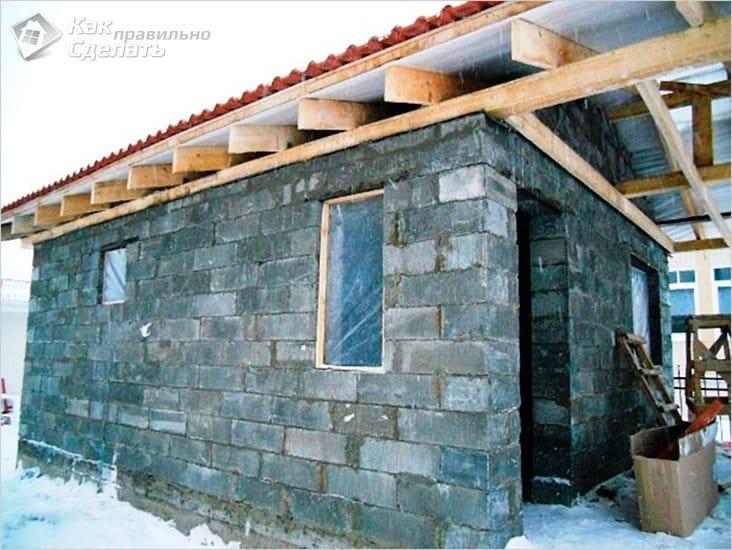Как сделать дом из шлака 972