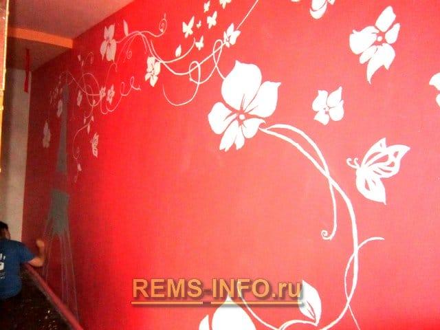 Декор стін своїми руками: перетворимо інтер'єр у квартирі не складним малюнком на стіні.