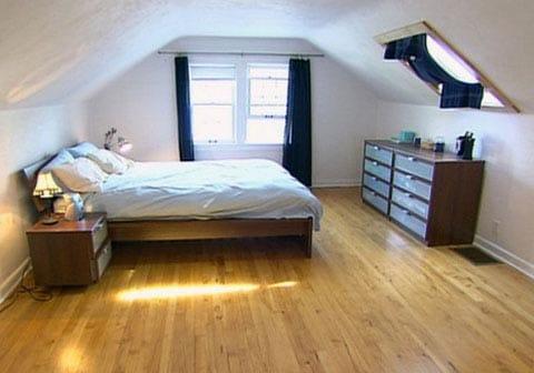 Кімната на горищі своїми руками, ремонт інтерєр і дизайн дитячої та спальні, детальніше на відео та фото
