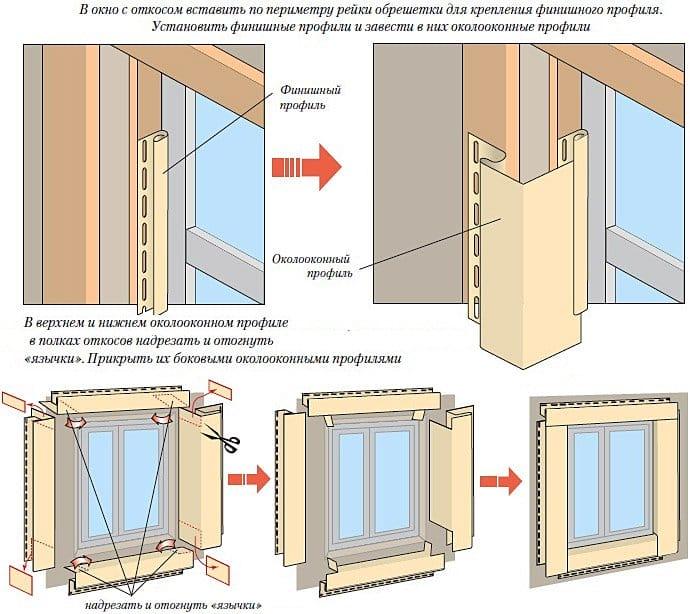 Окна отделка сайдингом своими руками пошаговая инструкция 44