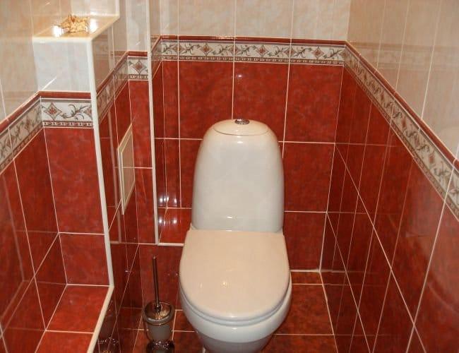 Ремонт своими руками в туалетной 312