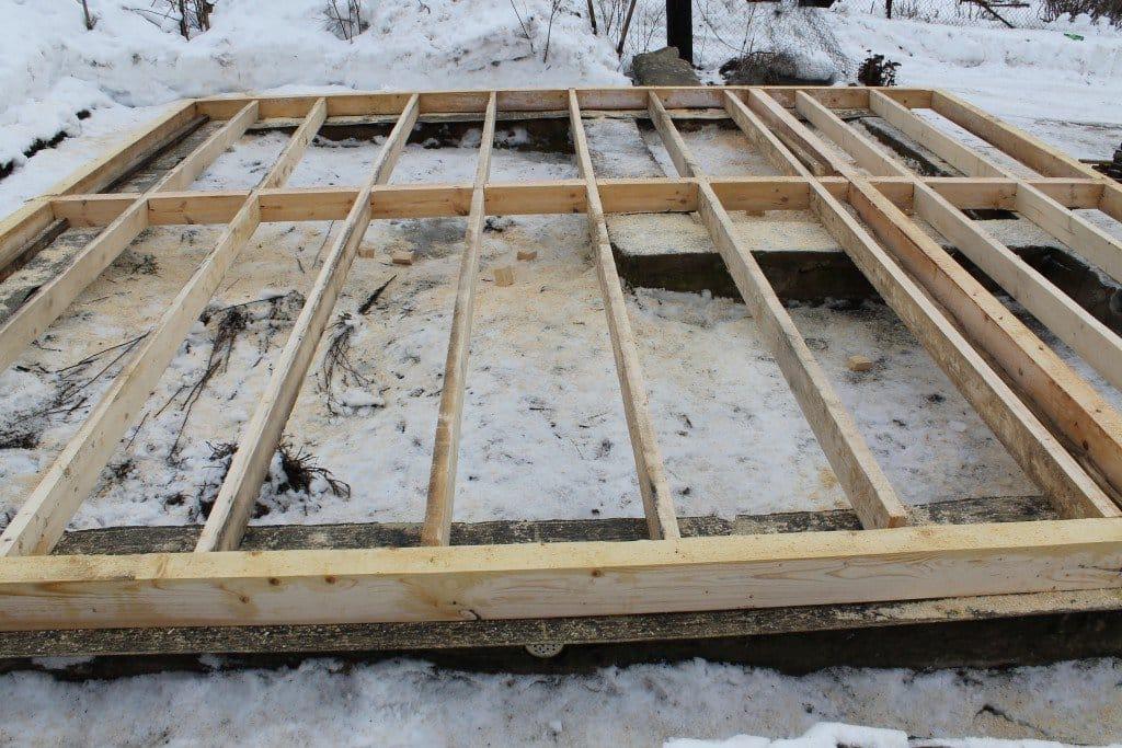 Строительство из бруса своими руками пошаговая инструкция 6