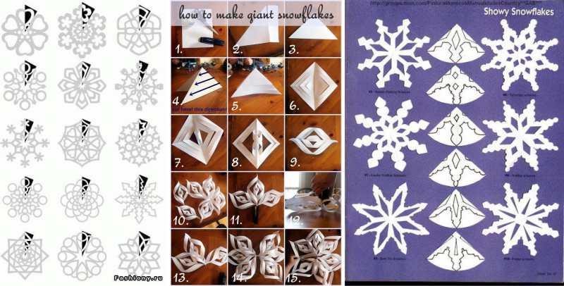 Новогодними снежинки своими руками 299
