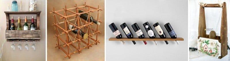 Бутылочница для кухни: способы упростить и украсить быт на 44
