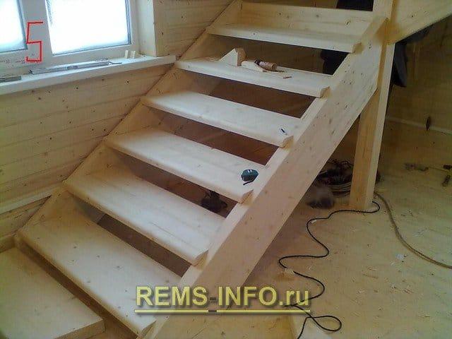 Как сделать лестницу из фанеры своими руками 63
