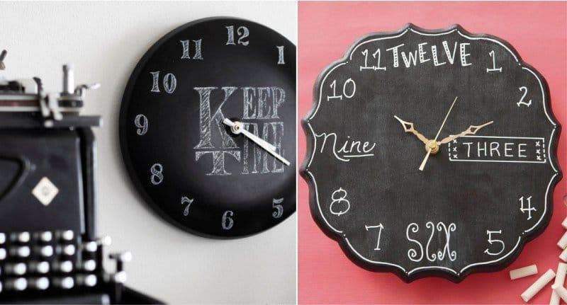 Дизайн часов своим руками 19