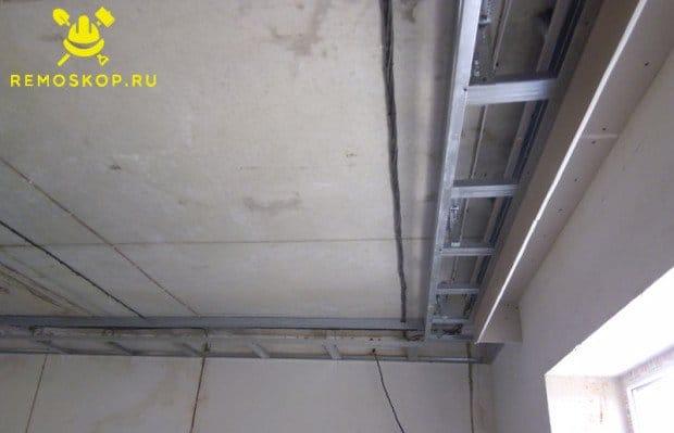Ниша для штор потолок своими руками 541