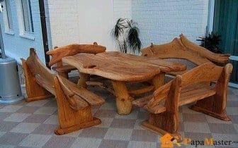 Мебель из массива дерева своими руками чертежи фото 46