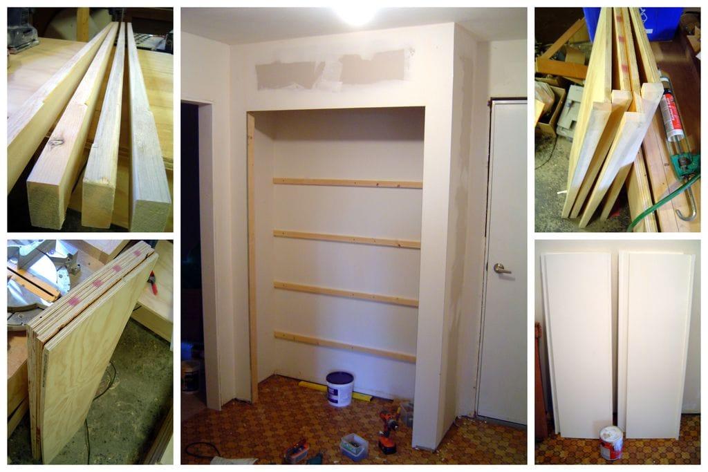 Как сделать стенной шкаф своими руками 48