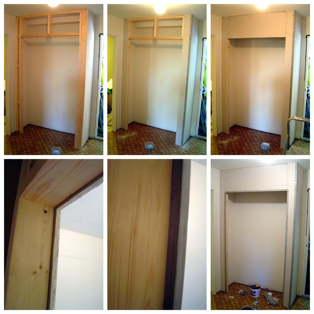 Как сделать шкаф с дверями 88