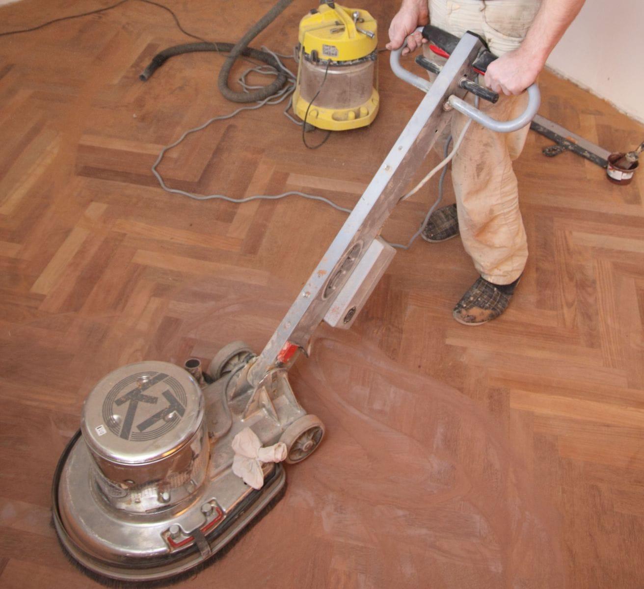 Как отциклевать деревянный пол своими руками 39