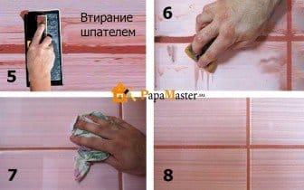 Расшивка для плитки своими руками 25