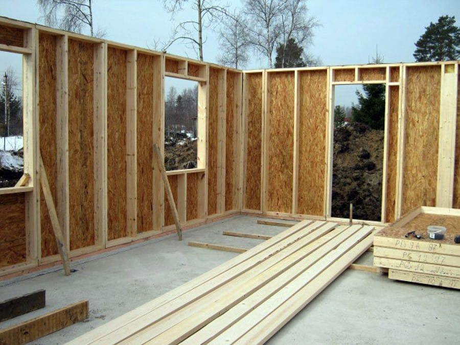Как построить дом своими руками по каркасной технологии 59