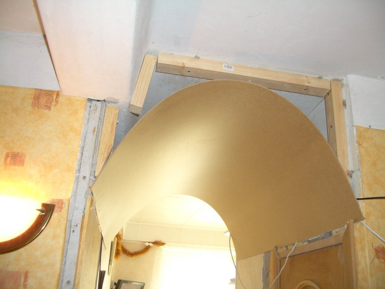 Дверная арка из дсп своими руками 1