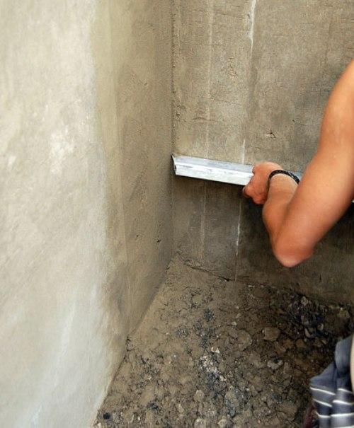 Как сделать внутренний углы стен 12