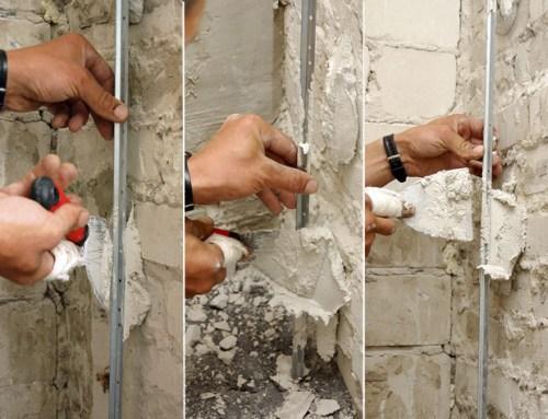 Выравнивание стены штукатуркой своими руками 963