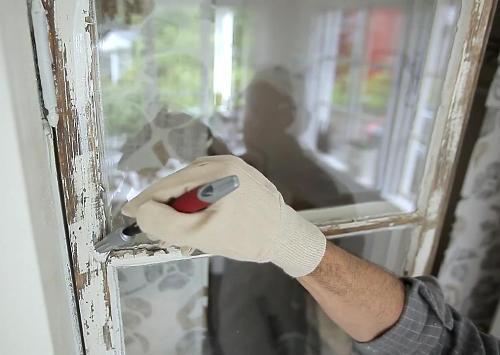 Как отреставрировать окно своими руками