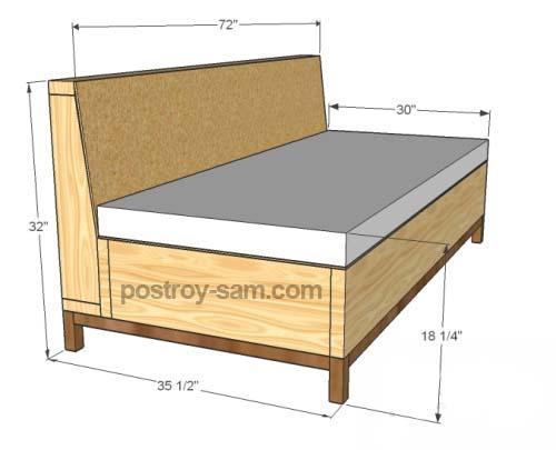 Как самому сделать диваны 448