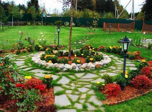 Декор саду своїми руками