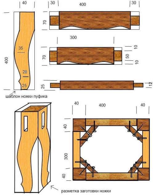 Гнутые конструкции из дерева своими руками 25