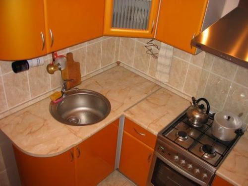 Как сделать кухню в хрущёвке фото 176