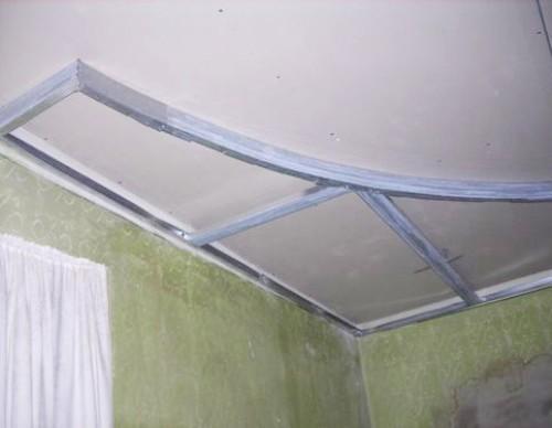 Как сделать двухуровневые потолки из гипсокартона и натяжного 380