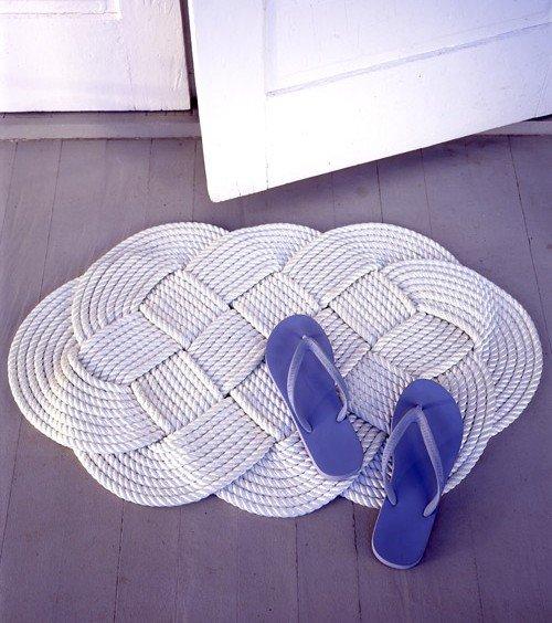 В'язані килимки для ванної: – секрети створення шедевра