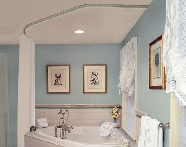Шторка для ванної кутова – краса і практичність сумісні