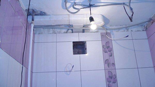 Монтаж вентиляции в ванной своими руками