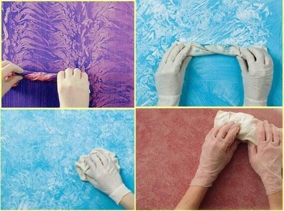 Как сделать бумажную штукатурку