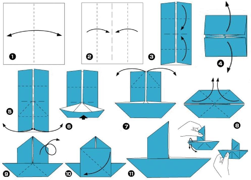 Поделки из цветной бумаги своими руками на примере