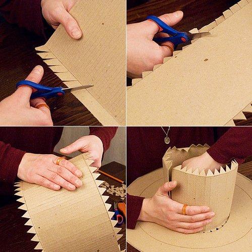 Как сделать джентельменскую шляпу своими руками 4