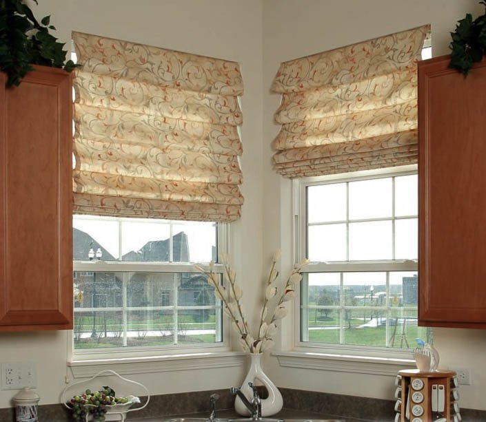 Римские шторы для пластиковых окон своими руками
