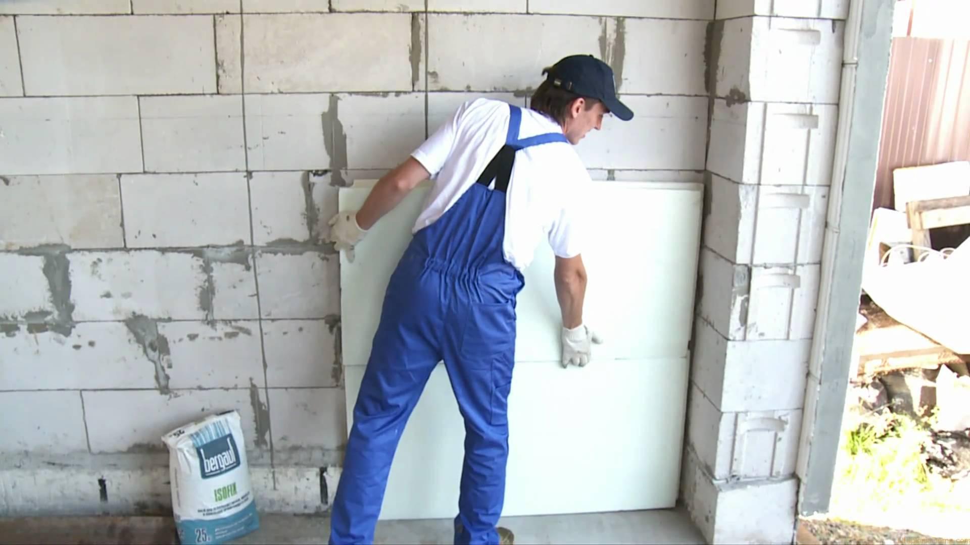 Утепление стен пенопластом своими руками как утеплить дом