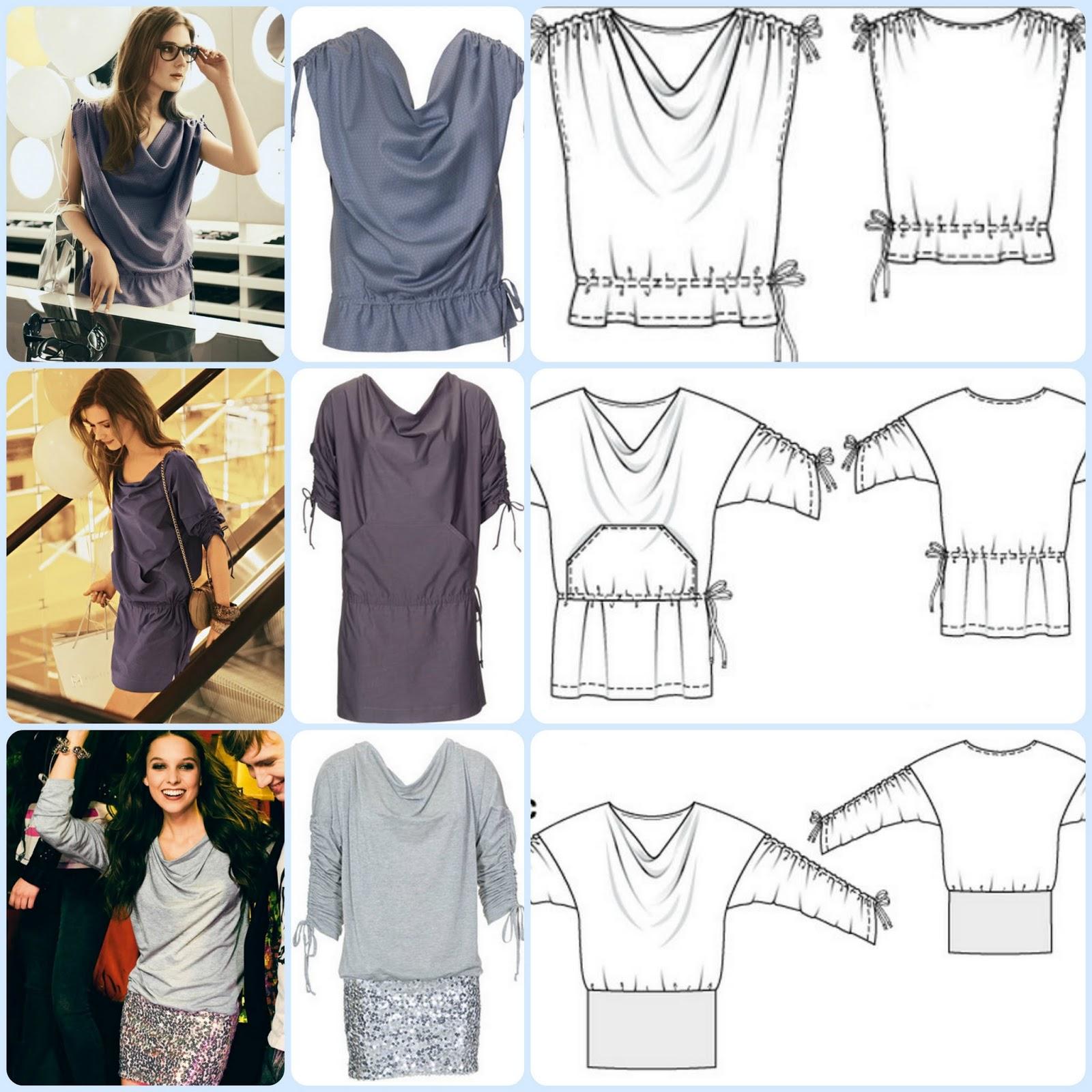 Создаем свой стиль: как сшить блузку своими руками без выкройки за один 91