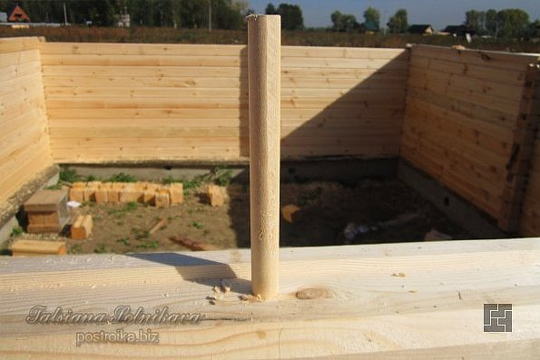 Строительство из бруса своими руками пошаговая инструкция 45