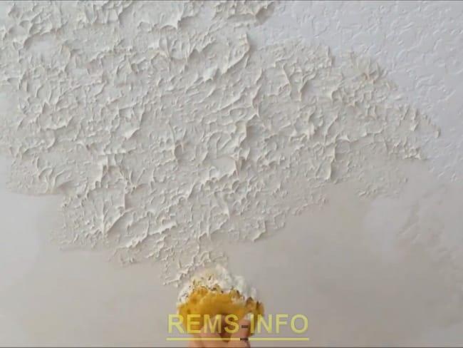 Как сделать потолок рельефным своими руками 94