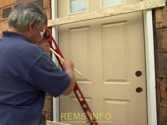 Замена входной двери в квартире своими руками 65