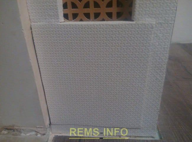 Гіпсокартонна конструкція: короби під радіатори, а так само багаторівнева система ніш