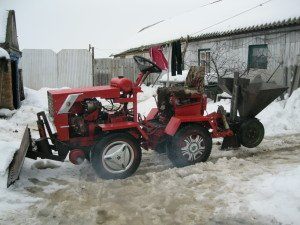 Мини-трактор сделать в домашних условиях 891