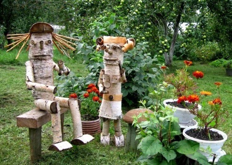 Садовые поделки своими руками с фото 18