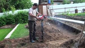 Мотобур для земляних робіт: ціна, технічні особливості