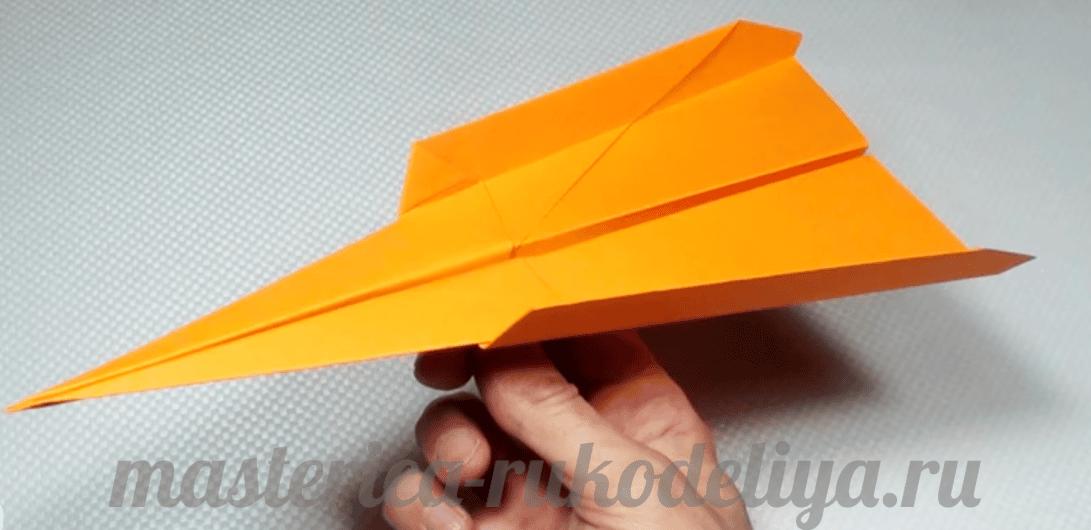 Как делают самолетики фото