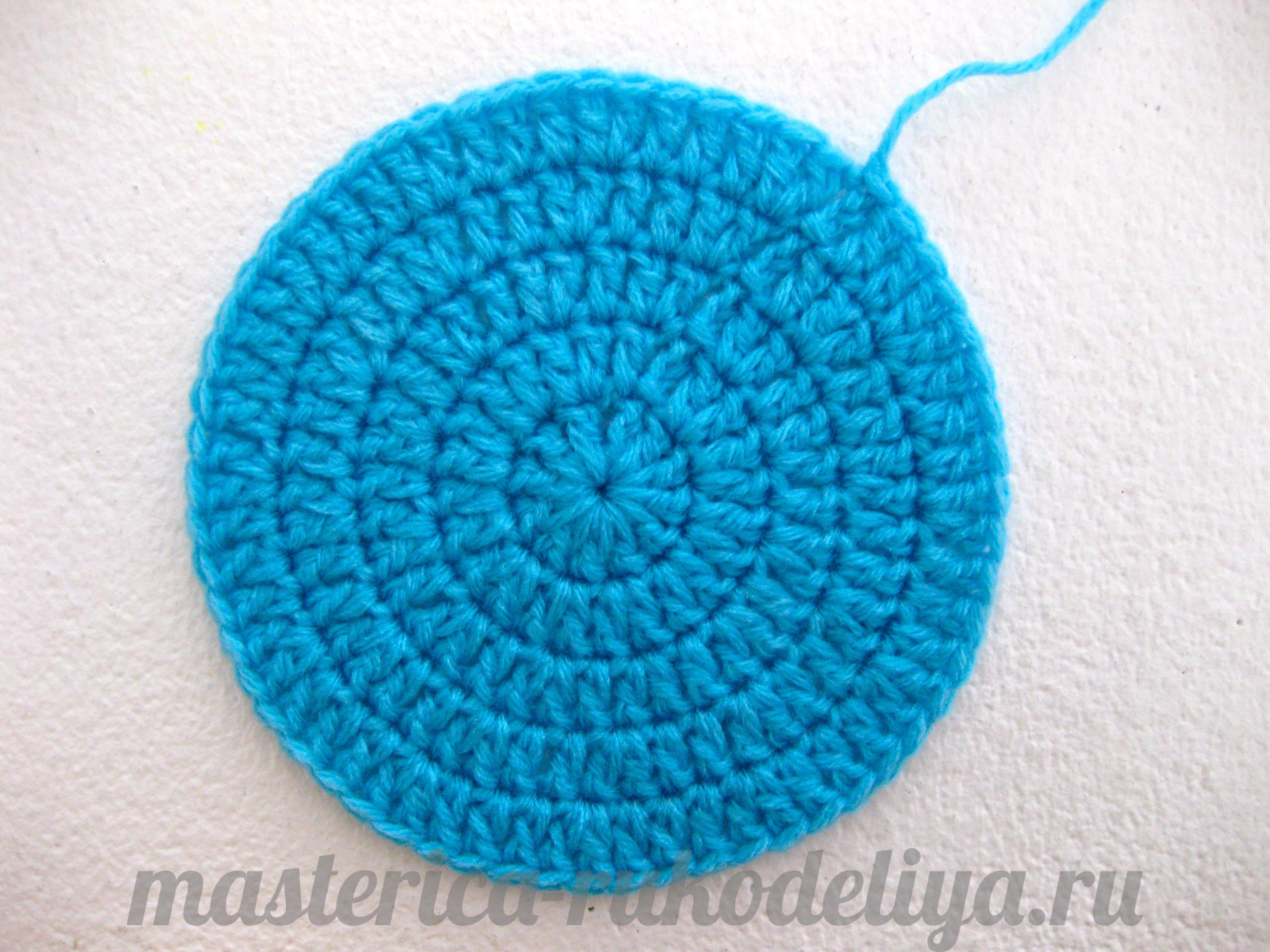 Вязание по кругу пошагово фото