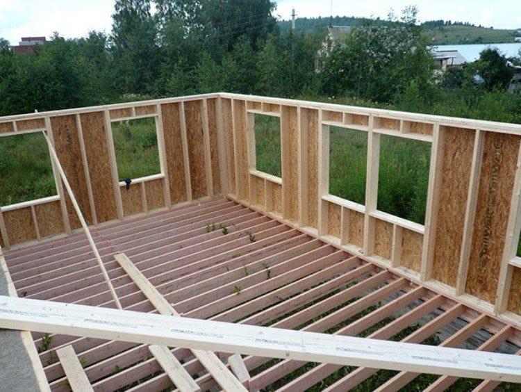 Как построить каркасный дом своими рукам